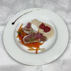 Assiette traiteur Lecourt Receptions